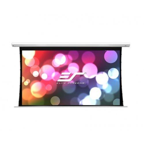 """Екран за проектор Elite Screen Electric85X Spectrum, 85"""" (16:10), 183.1 x 114.4 cm, White (снимка 1)"""