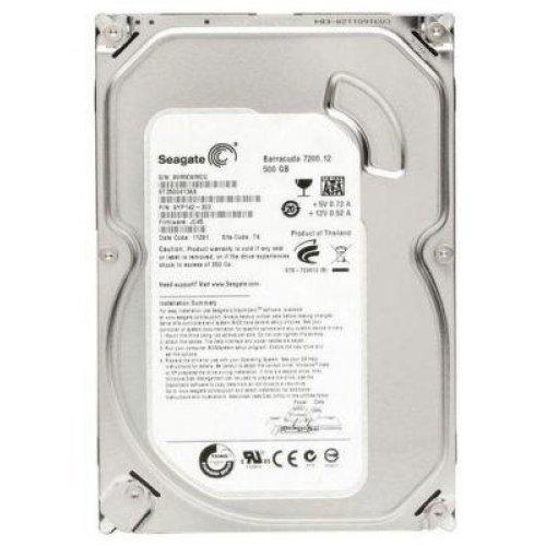 Твърд диск SEAGATE BarraCuda, 500GB, 16MB, 7200 rpm, SATA 3, ST3500413AS (снимка 1)