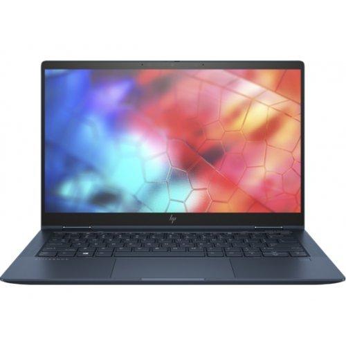 "Лаптоп HP Elite Dragonfly, черен, 13.3"" (33.78см.) 1920x1080 IPS тъч, Процесор Intel Core i7-8565U (4x/8x), Видео Intel UHD 620, 16GB LPDDR3 RAM, 512GB SSD диск, без опт. у-во, Windows 10 Pro 64 ОС (снимка 1)"