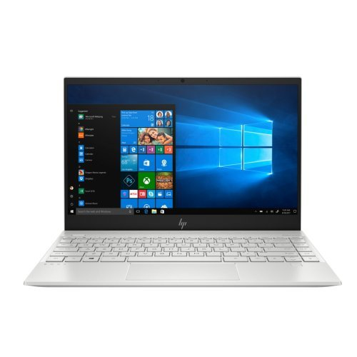 "Лаптоп HP Envy 13-aq1004nu, сребрист, 13.3"" (33.78см.) 1920x1080 без отблясъци, Процесор Intel Core i7-10510U (4x/8x), Видео nVidia GeForce MX250/ 2GB GDDR5, 16GB DDR4 RAM, 512GB SSD диск, без опт. у-во, Windows 10 64 ОС, Клавиатура- светеща с БДС (снимка 1)"
