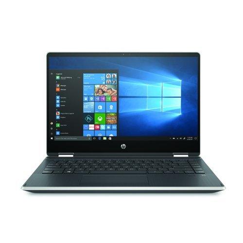 """Лаптоп HP Pavilion x360 14-dh1001nu, сребрист, 14.0"""" (35.56см.) 1920x1080 без отблясъци тъч, Процесор Intel Core i5-10210U (4x/8x), Видео nVidia GeForce MX130/ 2GB GDDR5, 8GB DDR4 RAM, 512GB SSD диск, без опт. у-во, Windows 10 64 ОС, Клавиатура- с БДС (снимка 1)"""
