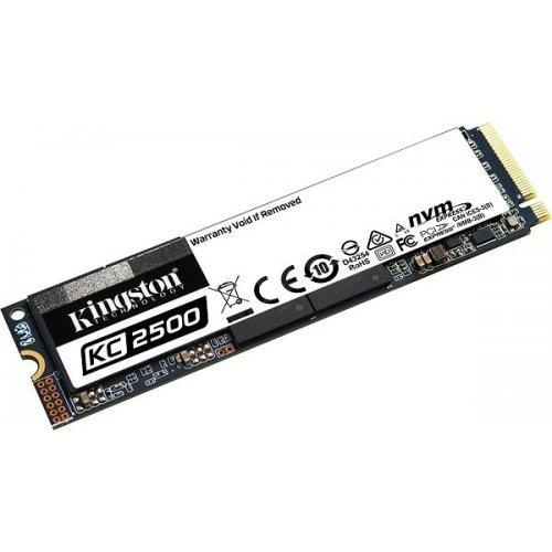 SSD Kingston 1000GB KC2500 M.2 2280 NVMe SSD, up to 3500/2900MB/s  (снимка 1)