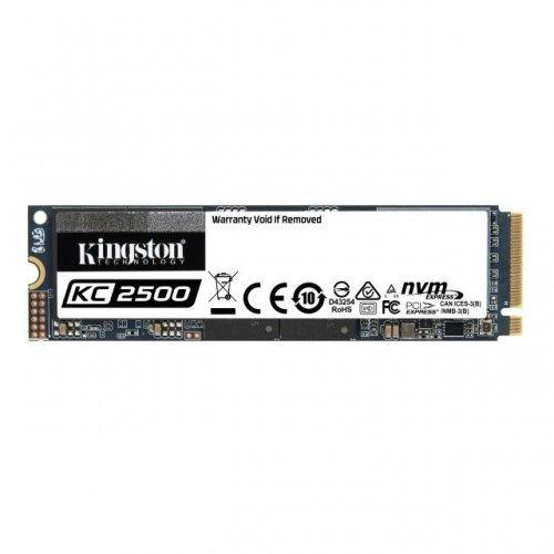 SSD Kingston 500GB KC2500 M.2 2280 NVMe SSD, up to 3500/2500MB/s (снимка 1)
