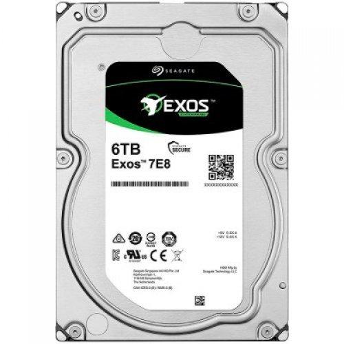 Твърд диск SEAGATE 6TB HDD Server Exos 7E8 512E/4k (3.5'/SATA 6GB/s/ 7200rpm) (снимка 1)