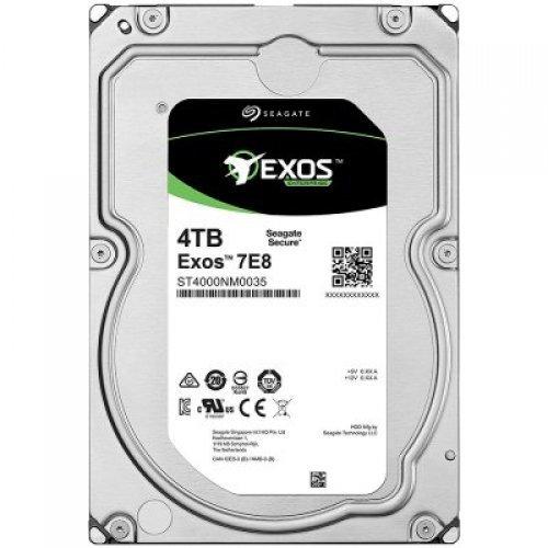 Твърд диск SEAGATE 4TB HDD Server Exos 7E8 512E/4kn (3.5'/SATA 6GB/s/7200rpm) (снимка 1)