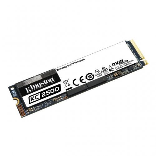 SSD KINGSTON 250GB KC2500 M.2-2280 PCIe NVMe  (снимка 1)