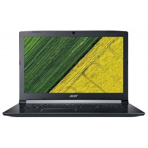 """Лаптоп Acer Aspire 5 A517-51G-31BZ, черен, 17.3"""" (43.94см.) 1920x1080 (Full HD) без отблясъци, Процесор Intel Core i5-7200U (2x/4x), Видео nVidia GeForce MX130/ 2GB GDDR5, 4GB DDR4 RAM, 256GB SSD диск, DVDRW, без ОС, Клавиатура- с БДС (снимка 1)"""