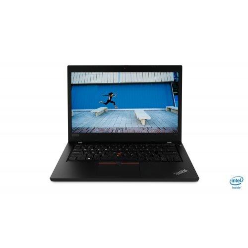 "Лаптоп Lenovo ThinkPad L490, черен, 14.0"" (35.56см.) 1920x1080 (Full HD) без отблясъци IPS, Процесор Intel Core i7-8565U (4x/8x), Видео Intel UHD, 16GB DDR4 RAM, 512GB SSD диск, без опт. у-во, Windows 10 Pro 64 ОС, Клавиатура- с БДС (снимка 1)"