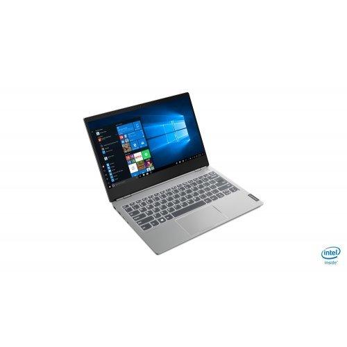 "Лаптоп Lenovo ThinkBook 15 IIL, сив, 15.6"" (39.62см.) 1920x1080 (Full HD) без отблясъци, Процесор Intel Core i7-1065G7 (4x/8x), Видео интегрирана, 16GB DDR4 RAM, 512GB SSD диск, без опт. у-во, FreeDOS ОС, Клавиатура- с БДС (снимка 1)"