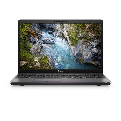 """Лаптоп Dell Precision 15 3541, черен, 15.6"""" (39.62см.) 1920x1080 (Full HD) без отблясъци тъч, Процесор Intel Core i7-9850H (6x/12x), Видео nVidia Quadro P620/ 4GB GDDR5, 16GB DDR4 RAM, 1TB HDD + 512GB SSD диск, без опт. у-во, Windows 10 Pro 64 English ОС, Клавиатура- светеща (снимка 1)"""