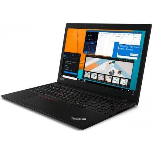"Лаптоп Lenovo ThinkPad L590, черен, 15.6"" (39.62см.) 1920x1080 (Full HD) без отблясъци IPS, Процесор Intel Core i7-8565U (4x/8x), Видео Intel UHD 620, 16GB DDR4 RAM, 512GB SSD диск, без опт. у-во, Windows 10 Pro 64 ОС, Клавиатура- с БДС (снимка 1)"