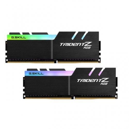 RAM памет DDR4 32GB Kit 2x16GB 3600MHz, G.SKILL Trident Z, RGB, PC4-28800, CL16 (снимка 1)
