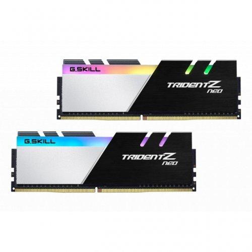RAM памет DDR4 16GB Kit 2x8GB 3600MHz, G.SKILL Trident Z Neo, RGB, PC4-28800, CL16 (снимка 1)