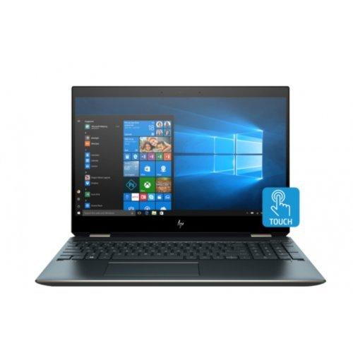 "Лаптоп HP Spectre x360 15-df1049na Poseidon, 2 в 1, сив, 15.6"" (39.62см.) 3840x2160 (4K Ultra HD) без отблясъци тъч, Процесор Intel Core i7-10510U (4x/8x), Видео nVidia GeForce MX250/ 2GB GDDR5, 16GB DDR4 RAM, 1TB SSD диск, без опт. у-во, Windows 10 64 ОС, Клавиатура- светеща (снимка 1)"