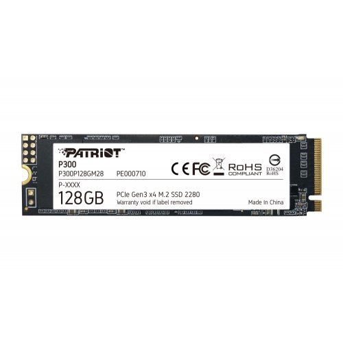 SSD Patriot 128GB P300 M.2 2280 PCIE (снимка 1)