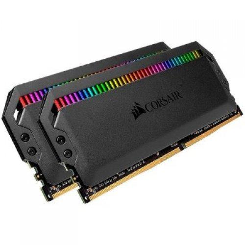 RAM памет DDR4 16GB Kit 2x8GB 3200MHz, CORSAIR DOMINATOR PLATINUM, RGB, DRAM, C16, AMD Ryzen Memory Kit (снимка 1)
