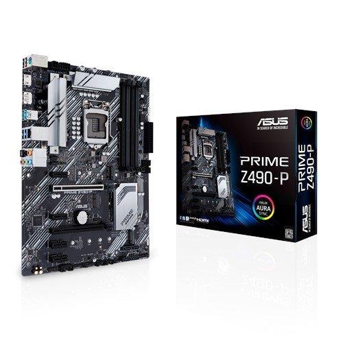 Дънна платка ASUS PRIME Z490-P, LGA1200, Intel Z490 (снимка 1)