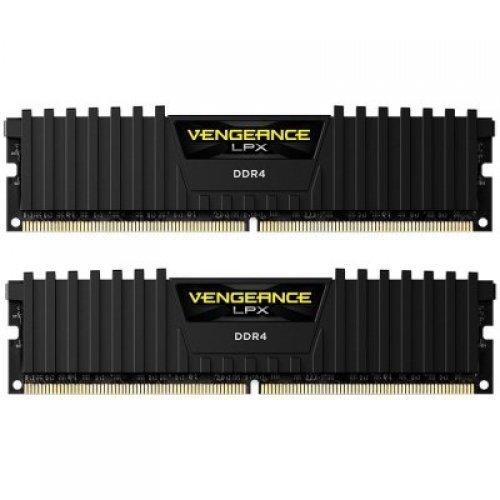 RAM памет DDR4 16GB Kit 2x8GB 3600MHz, CORSAIR Vengeance LPX, CL20, DRAM (снимка 1)