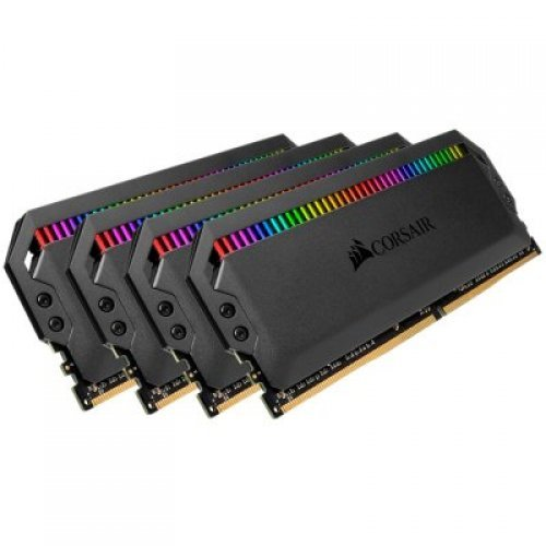 RAM памет DDR4 32GB Kit 4x8GB 3200MHz, CORSAIR Dominator Platinem, RGB, DRAM, C16 (снимка 1)