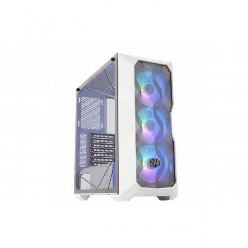Компютърна кутия Cooler Master MasterBox TD500 Mesh White ARGB (снимка 1)