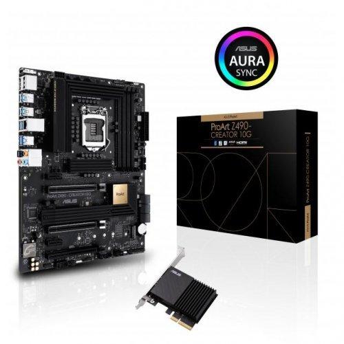 Дънна платка ASUS ProArt Z490-CREATOR 10G Lan LGA1200  (снимка 1)