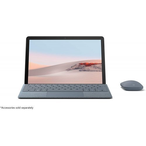"Таблет MICROSOFT Surface Go 2/10.5"" Touch PixelSense Display 1920 x 1280 (220 PPI) Corning Gorilla Glass 3/CPU Intel Pentium Gold Processor 4425Y/8GB LPDDR3/128GB SSD/ 5.0MP front-facing cam. 1080p Skype HD video/8.0MP rear-facing AF cam. 1080p HD video (снимка 1)"