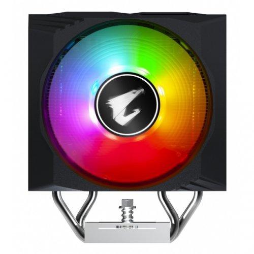 Охлаждане Gigabyte ATC800 RGB Fusion Intel/AMD, Охладител за процесор  (снимка 1)