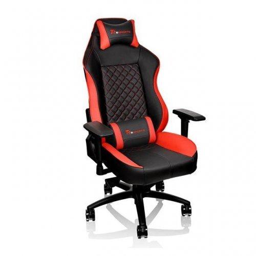 Геймърски стол Тtesports GT Comfort, Геймърски стол, Черен/Червен (снимка 1)