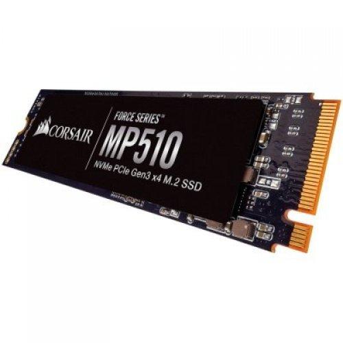 SSD Corsair SSD 480GB Force MP510 M.2 2280 NVMe PCIe (Read/Write: 3480/2000MB/s; 360/440K IOPS) (снимка 1)