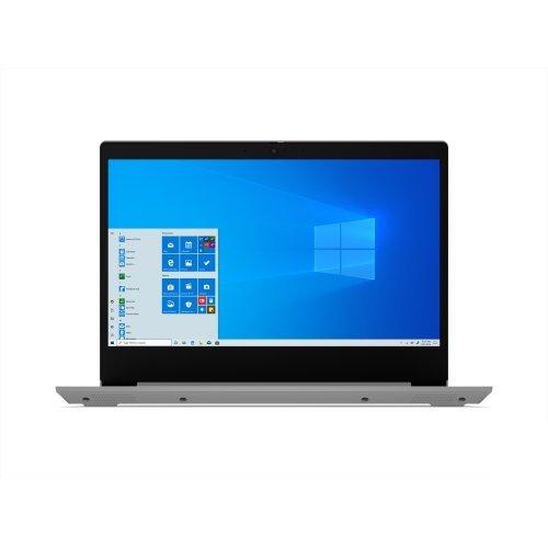 "Лаптоп Lenovo IdeaPad 3, сребрист, 14.0"" (35.56см.) 1920x1080 (Full HD) без отблясъци IPS, Процесор Intel Core i3-1005G1 (2x/4x), Видео Intel UHD, 8GB DDR4 RAM, 512GB SSD диск, без опт. у-во, FreeDOS ОС, Клавиатура- с БДС (снимка 1)"