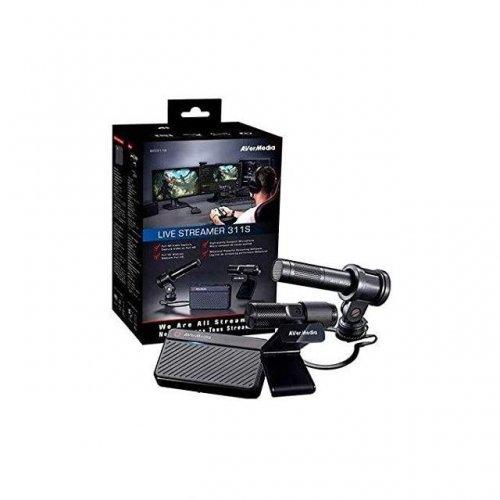 AVerMedia Live Streamer 311S - Комплект кепчър карта, уеб камера и микрофон (снимка 1)