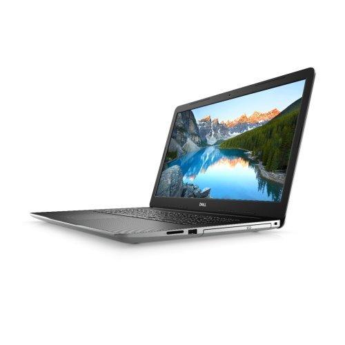 """Лаптоп Dell Inspiron 3793, сребрист, 17.3"""" (43.94см.) 1920x1080 (Full HD) без отблясъци, Процесор Intel Core i7-1065G7 (4x/8x), Видео nVidia GeForce MX230/ 2GB GDDR5, 8GB DDR4 RAM, 1TB HDD + 128GB SSD диск, DVDRW, Linux Ubuntu 18.04 ОС, Клавиатура- с БДС (снимка 1)"""