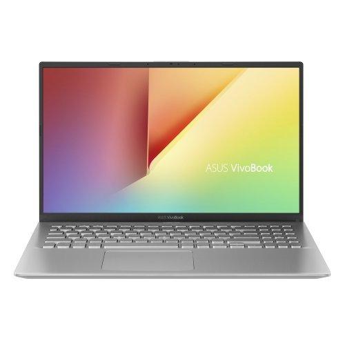 """Лаптоп Asus VivoBook15 X512JP-WB701, сребрист, 15.6"""" (39.62см.) 1920x1080 (Full HD) без отблясъци, Процесор Intel Core i7-1065G7 (4x/8x), Видео nVidia GeForce GT MX330/ 2GB GDDR5, 8GB DDR4 RAM, 256GB SSD диск, без опт. у-во, Linux ОС, Клавиатура- с БДС (снимка 1)"""