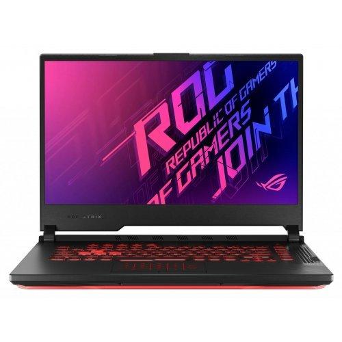 "Лаптоп Asus ROG Strix G15 G512LI-HN065, черен, 15.6"" (39.62см.) 1920x1080 (Full HD) без отблясъци 144Hz IPS, Процесор Intel Core i7-10750H (6x/12x), Видео nVidia GeForce GTX 1650 Ti/ 4GB GDDR6, 8GB DDR4 RAM, 512GB SSD диск, без опт. у-во, FreeDOS ОС, Клавиатура- светеща (снимка 1)"