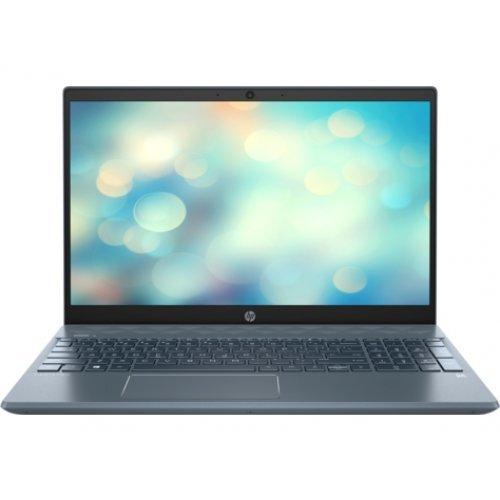 """Лаптоп HP Pavilion 15-cs3002nu, сив, 15.6"""" (39.62см.) 1920x1080 (Full HD) без отблясъци IPS, Процесор Intel Core i5-1035G1 (4x/8x), Видео nVidia GeForce MX250/ 2GB GDDR5, 8GB DDR4 RAM, 512GB SSD диск, без опт. у-во, FreeDOS ОС, Клавиатура- светеща (снимка 1)"""