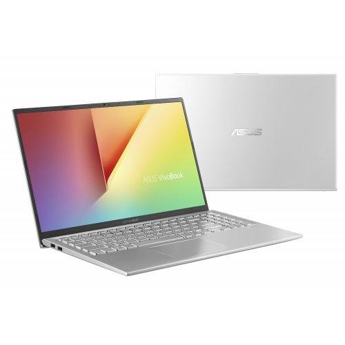 "Лаптоп Asus VivoBook 15 X512JP-WB501, сребрист, 15.6"" (39.62см.) 1920x1080 (Full HD) без отблясъци, Процесор Intel Core i5-1035G1 (4x/8x), Видео nVidia GeForce GT MX330/ 2GB GDDR5, 12GB DDR4 RAM, 256GB SSD диск, без опт. у-во, FreeDOS ОС (снимка 1)"