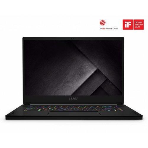 "Лаптоп MSI GS66 STEALTH 10SF-226BG-BB71075H32GXXDX10MA, черен, 15.6"" (39.62см.) 1920x1080 (Full HD) 300Hz, Процесор Intel Core i7-10750H (6x/12x), Видео nVidia GeForce RTX 2070 w/ Max-Q Design/ 8GB GDDR6, 32GB DDR4 RAM, 1TB SSD диск, без опт. у-во, Windows 10 64 ОС, Клавиатура- светеща (снимка 1)"