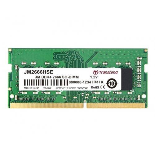 RAM памет DDR4 SODIMM 32GB 2666Mhz, Transcend JetRam, 2Rx8 2Gx8 CL19 1.2V (снимка 1)