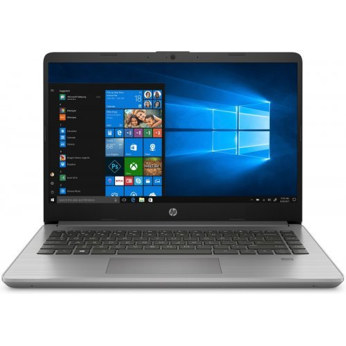 "Лаптоп HP 340S G7, сребрист, 14.0"" (35.56см.) 1920x1080 (Full HD) без отблясъци IPS, Процесор Intel Core i5-1035G1 (4x/8x), Видео Intel UHD, 16GB DDR4 RAM, 512GB SSD диск, без опт. у-во, FreeDOS ОС (снимка 1)"