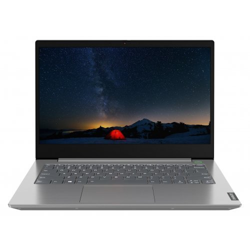 "Лаптоп Lenovo ThinkBook 14, сребрист, 14.0"" (35.56см.) 1920x1080 (Full HD) без отблясъци IPS, Процесор Intel Core i5-1035G4 (4x/8x), Видео Intel UHD, 8GB DDR4 RAM, 256GB SSD диск, без опт. у-во, Windows 10 Pro 64 ОС, Клавиатура- светеща с БДС (снимка 1)"