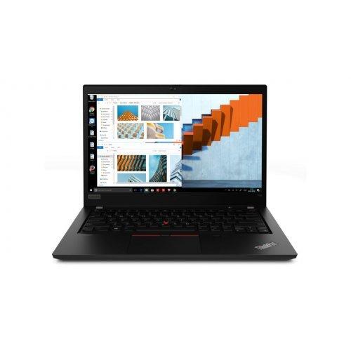 """Лаптоп Lenovo ThinkPad T14, черен, 14.0"""" (35.56см.) 1920x1080 (Full HD) без отблясъци IPS, Процесор Intel Core i5-10210U (4x/8x), Видео Intel UHD, 8GB DDR4 RAM, 256GB SSD диск, без опт. у-во, Windows 10 Pro 64 ОС, Клавиатура- светеща с БДС (снимка 1)"""