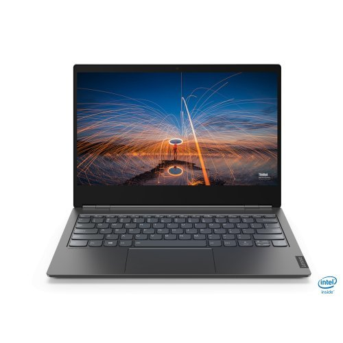 "Лаптоп Lenovo ThinkBook Plus 13s, сив, 13.3"" (33.78см.) 1920x1080 (Full HD) без отблясъци IPS, Процесор Intel Core i5-10210U (4x/8x), Видео интегрирано, 8GB DDR4 RAM, 512GB SSD диск, без опт. у-во, Windows 10 Pro 64 ОС, Клавиатура- с БДС (снимка 1)"