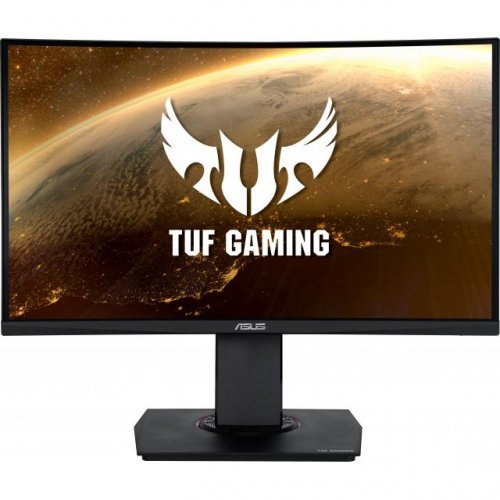 "Монитор ASUS 23.6"" TUF GAMING VG24VQ Curved  (снимка 1)"