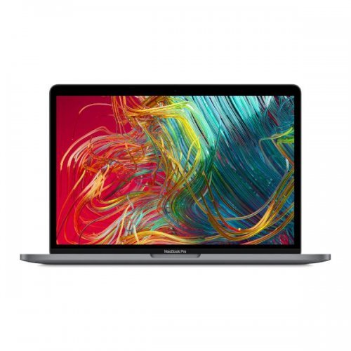 "Лаптоп Apple MacBook Pro 13 Touch Bar, сив, 13.0"" (33.02см.) 2560x1600 (WQXGA) IPS, Процесор Intel Core i5-8257U (4x/8x), Видео Intel Iris Plus Graphics 645, 8GB LPDDR3 RAM, 256GB SSD диск, без опт. у-во, MacOS X Sierra ОС, Клавиатура- светеща (снимка 1)"