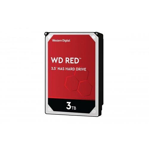 Твърд диск Western Digital 3TB SATAIII Red 256MB for NAS (снимка 1)