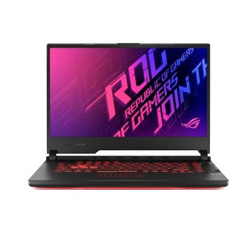 """Лаптоп Asus ROG STRIX G15 G512LV-HN034, черен, 15.6"""" (39.62см.) 1920x1080 (Full HD) без отблясъци IPS, Процесор Intel Core i7-10750H (6x/12x), Видео nVidia GeForce RTX 2060/ 6GB GDDR6, 16GB DDR4 RAM, 1TB SSD диск, без опт. у-во, без ОС, Клавиатура- светеща с БДС (снимка 1)"""