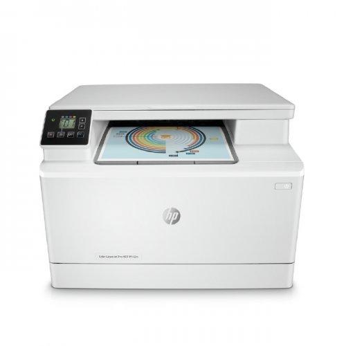 Принтер HP Color LaserJet Pro MFP M182n (снимка 1)