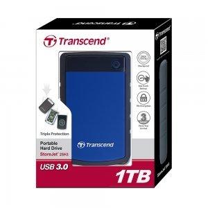 "Transcend StoreJet 25H3, 1TB, 2.5"", USB3.0, TS1TSJ25H3B (снимка 3)"