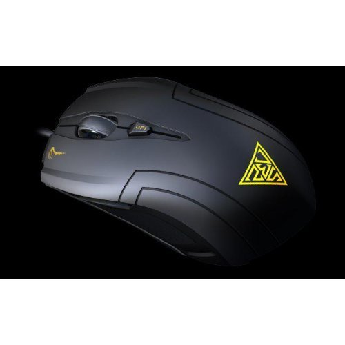 Мишка Gamdias Demeter Laser Game Mouse, GMS5010, up 3600 dpi, Polling rate: 125Hz - 1000Hz, 256KB onboard memory, 5+1 buttons, 2m. cable, (снимка 1)