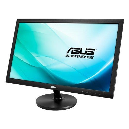 """Монитор Asus 23.6"""" Wide VS247NR, LED, 1920x1080, 250 cd/㎡, 50000000:1, 170°/160°, 5ms, D-Sub, DVI-D, Black (снимка 1)"""